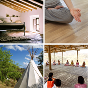 Ashtanga Vinyasa Yoga Retreat in Spanien mit Annette Hartwig / yogabija