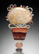 picture rhyolite pendant