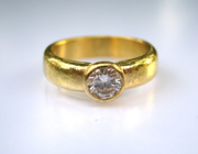 22k Diamond Ring