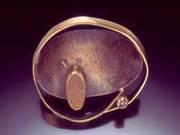 """Deborrah Daher: """"Diamond drusy bowl brooch"""""""