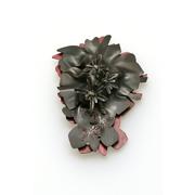 Rhodiola Rosea-Brooch_steel, nail polish