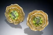 Poppy Peridot Earrings
