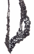 Shades of Black Knitted Necklace 01-detail-sm-2010-Liana Pattihis