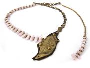 neckpiece with kunzite