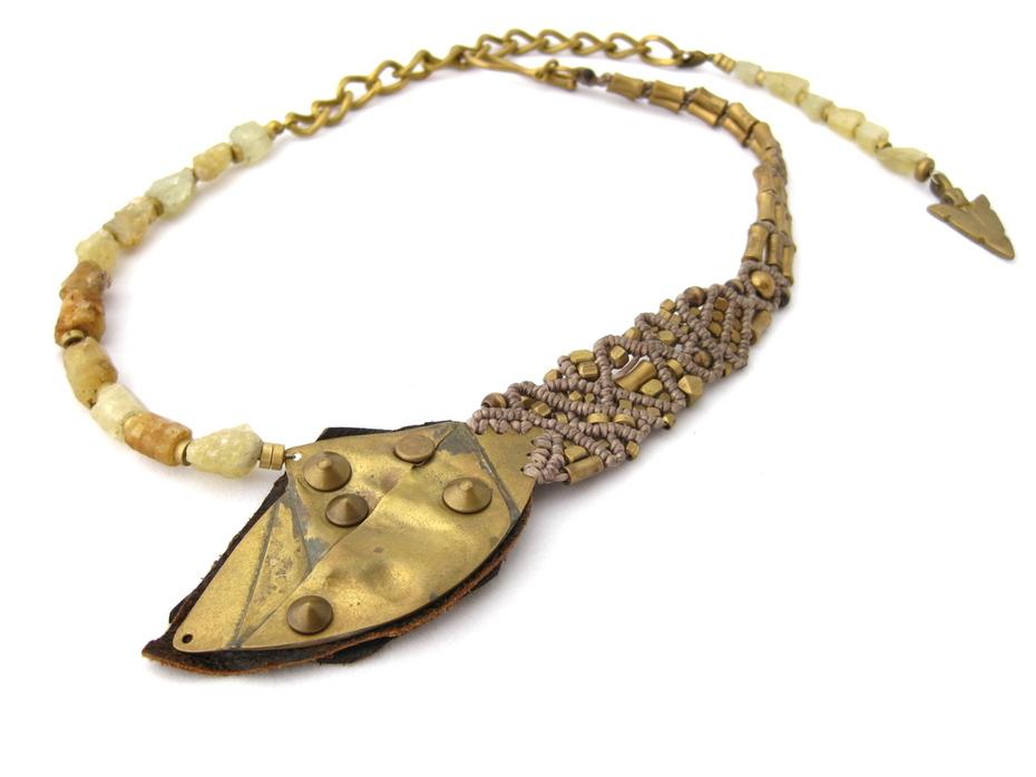 neckpiece with heliodor