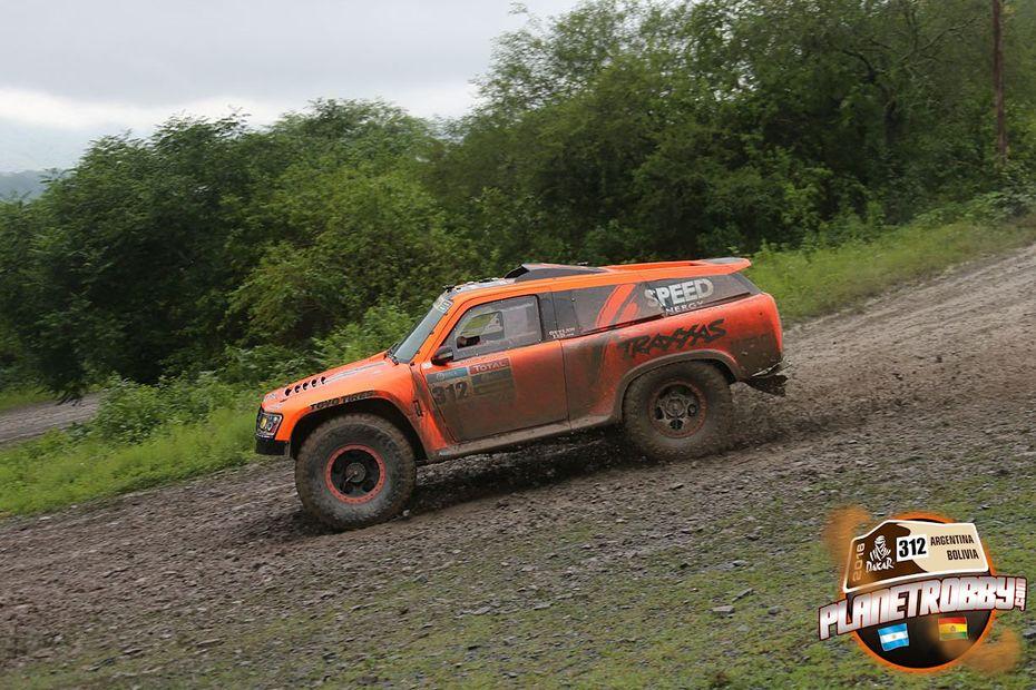 2016 Dakar Robby Gordon Stage 3