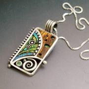 Silver Tribal Pendant