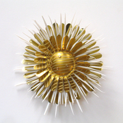 Flower Brooches by Harriete Estel Berman