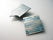 Graffi Aluminum Brooches blue
