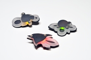 glow brooches (series)