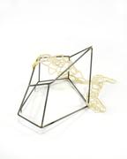 Stability/Fragility brooch