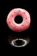 Sprinkled Doughnut Engagement Ring