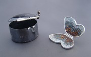 Butterfly pendant and box