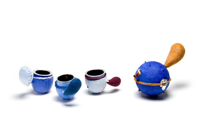 Blue Raspberry Madeleines