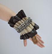 Charity Ruffled Cuff Bracelet