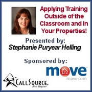 Applying Training Outside of the Classroom and In Your Properties!