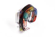 Graffiti Beveled Cuff (Side)