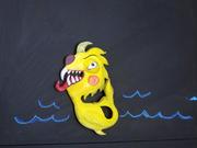 Fish Monster Magnet II