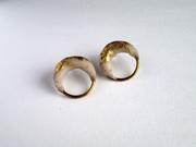 Gilded Ivory Earrings (2)