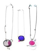Enamel, Foam Necklaces