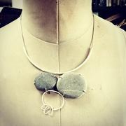 A.Morgan 6.Pebble necklace