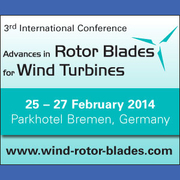 3rd International Conference Advances in Rotor Blades for Wind Turbines