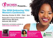 2016 Embracing YOU Women's Conference