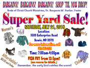 Super Yard Sale and Fish Fry