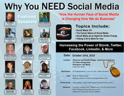 Why You NEED Social Media - The Human Face of Doing Business Online!