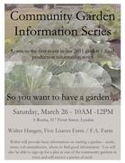 Community Garden Information Series