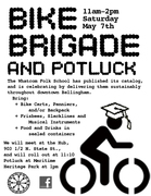 Whatcom Folk School Bike Brigade and Potluck