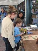 Kids Day with Common Threads at the Farmers Market