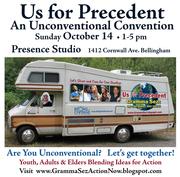 Us for Precedent Unconventional Convention Oct 14, Presence Studio
