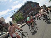 Bellingham's 5th Annual Naked Bike Ride, 2013!