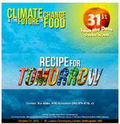 Climate Change and the Future of Food- Recipe for Tomorrow