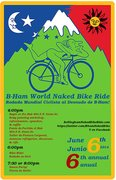 6th Annual B-Ham Naked Bike Ride 2014