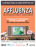 AFFLUENZA: Is all that coal to make stuff for us?