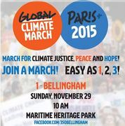 Global Climate Justice, Peace and Hope March - Bellingham