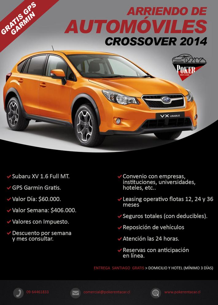 Rental Autos y Crossover Chile