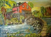 Ave Hurley - Daniel's Mill at Sunset-