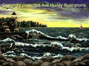 Ave Hurley - Cosgriff Point Lighthouse-