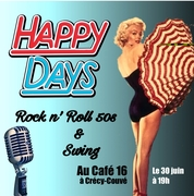 HAPPY DAYS Rock n'Roll des années 50