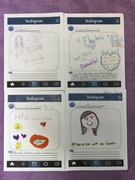Girls learned about social media and Instragram. Here are there post!!!!