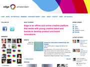 Screenshot Homepage Network