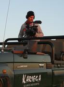 Camerawerk in Game reserve Kariega