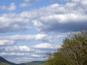 clouds over the connecticut river