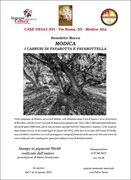 I carrubi  di Favarotta e Favarottella di Benedetto Macca in mostra  ne Le Case degli Avi.
