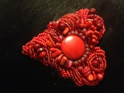 Sweetheart Red Brooch
