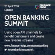 Open Banking Summit 2018