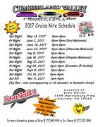 Cumberland Valley Classic Car Club Cruise Nights 2017